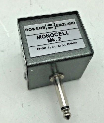 "Bowen's original metal cased Monocell 2 slave unit with 1/4"" jack plug connector"
